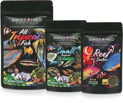 Profesionální řada akvarijní krmivo SwissMed