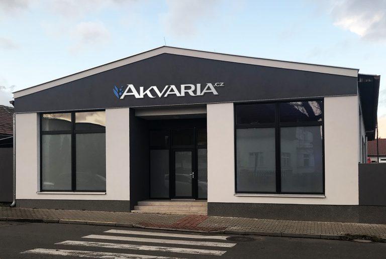 Akvária showroom Praha